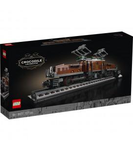 LEGO® D2C 10277 Creator Expert Crocodile Locomotive, Age 18+, Building Blocks, 2020 (1271pcs)