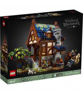 LEGO® D2C 21325 Ideas Medieval Black Smith, Age 18+, Building Blocks, 2021 (2164pcs)