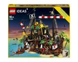 LEGO® D2C 21322 Ideas Pirate Ship, Age 16+, Building Blocks, 2020 (2545pcs)