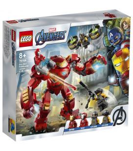 LEGO® Super Heroes 76164 Iron Man Hulkbuster versus A.I.M. Agent, Age 8+, Building Blocks, 2020 (456pcs)