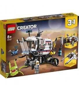 LEGO® Creator 31107 Space Rover Explorer, Age 8+, Building Blocks, 2020 (510pcs)