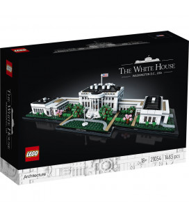 LEGO® Architecture 21054 The White House, Age 18+, Building Blocks, 2020 (1483pcs)