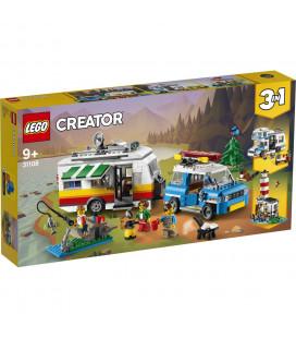 LEGO® Creator 31108 Caravan Family Holiday, Age 9+, Building Blocks, 2020 (766pcs)