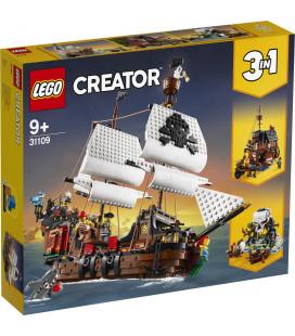LEGO® Creator 31109 Pirate Ship, Age 9+, Building Blocks, 2020 (1264pcs)