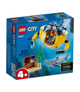 LEGO® City 60263 Ocean Mini-Submarine, Age 4+, Building Blocks, 2020 (41pcs)