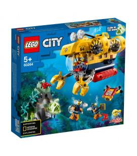 LEGO® City 60264 Ocean Exploration Submarine, Age 5+, Building Blocks, 2020 (286pcs)