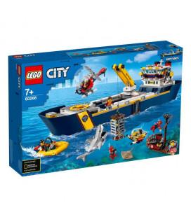LEGO® City 60266 Ocean Exploration Ship, Age 7+, Building Blocks, 2020 (745pcs)