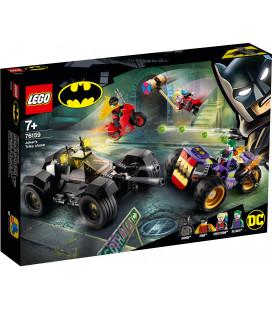 LEGO® Super Heroes 76159 Joker's Trike Chase, Age 7+, Building Blocks, 2020 (440pcs)