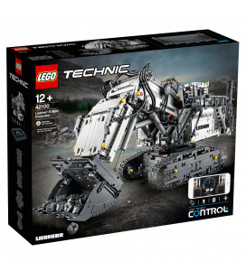 LEGO® Technic 42100 Liebherr R 9800 Excavator, Age 12+, Building Blocks (4108pcs)