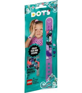 LEGO® DOTS 41902 Sparkly Unicorn Bracelet, Age 6+, Building Blocks, 2020 (33pcs)