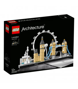 LEGO® Architecture 21034 London, Age 12+, Building Blocks (468pcs)