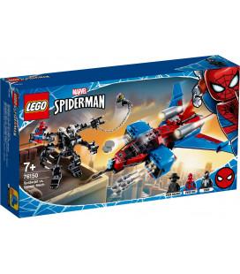 LEGO® Super Heroes 76150 Spiderjet Vs. Venom Mech Building Kit, 2020 (371Pcs)