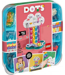 LEGO® DOTS 41905 Rainbow Jewelry Stand, Age 6+, Building Blocks, 2020 (213pcs)