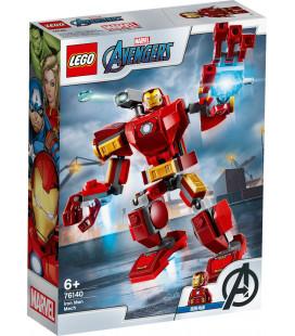 LEGO® Super Heroes 76140 Iron Man Mech, Age 6+, Building Blocks, 2020 (148pcs)