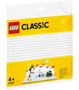 LEGO® Classic 11010 White Baseplate, Age 4+, Building Blocks, 2020 (1pcs)