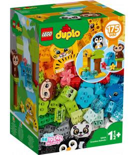 LEGO® DUPLO® Classic 10934 Creative animals, Age 1½+, Building Blocks, 2020 (175pcs)