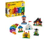 LEGO® Classic 11008 Bricks and Houses, Age 4+, Building Blocks, 2020 (270pcs)