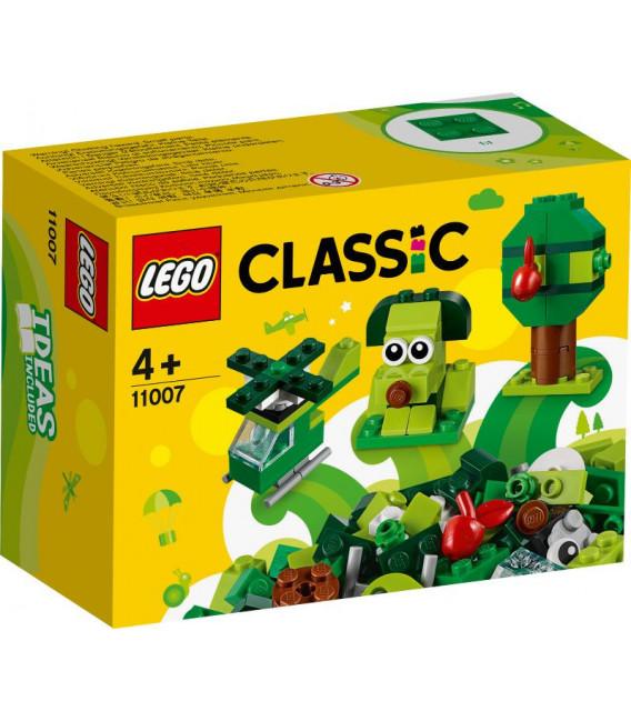 LEGO® Classic 11007 Creative Green Bricks, Age 4+, Building Blocks, 2020 (60pcs)