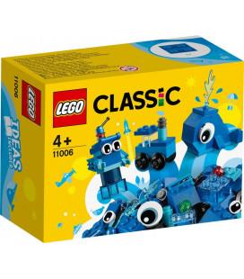 LEGO® Classic 11006 Creative Blue Bricks, Age 4+, Building Blocks, 2020 (52pcs)