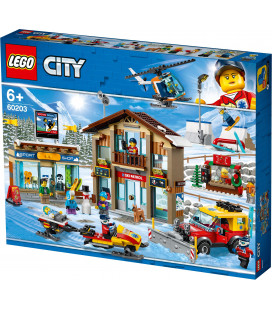 LEGO® City 60203 Ski Resort, Age 6+, Building Blocks (806pcs)