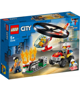 LEGO® City 60248 Fire Helicopter Response, Age 5+, Building Blocks, 2020 (93pcs)