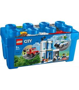 LEGO® City 60270 Police Brick Box, Age 5+, Building Blocks, 2020 (301pcs)