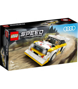 LEGO® Speed Champions 76897 1985 Audi Sport quattro S1, Age 7+, Building Blocks, 2020 (250pcs)