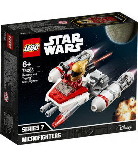 LEGO® Star Wars™ 75263 Resistance Y-wing™ Microfighter, Age 6+, Building Blocks, 2020 (86pcs)