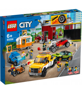 LEGO® City 60258 Tuning Workshop, Age 6+, Building Blocks, 2020 (897pcs)