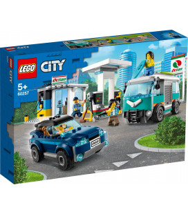 LEGO® City 60257 Service Station, Age 5+, Building Blocks, 2020 (354pcs)