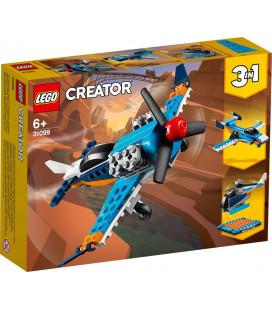 LEGO® Creator 31099 Propeller Plane, Age 6+, Building Blocks, 2020 (128pcs)