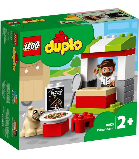 LEGO® DUPLO® Town 10927 Pizza Stand, Age 2+, Building Blocks, 2020 (18pcs)