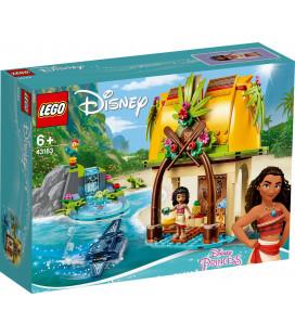 LEGO® Disney Princess 43183 Moana's Island Home, Age 6+, Building Blocks, 2020 (202pcs)