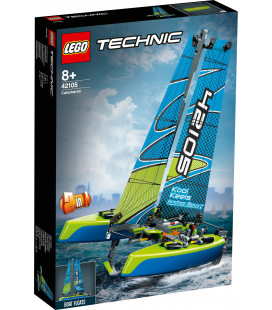 LEGO® Technic 42105 Catamaran, Age 8+, Building Blocks, 2020 (404pcs)