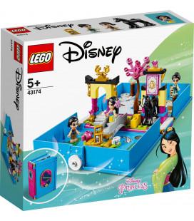 LEGO® Disney Princess 43174 Mulan's Storybook Adventures, Age 5+, Building Blocks, 2020 (124pcs)