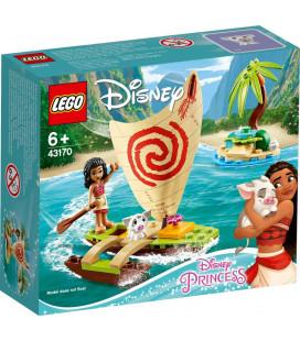 LEGO® Disney Princess 43170 Moana's Ocean Adventure, Age 6+, Building Blocks, 2020 (46pcs)