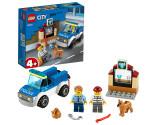 LEGO® City 60241 Police Dog Unit, Age 4+, Building Blocks, 2020 (67pcs)