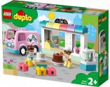LEGO® DUPLO® Town 10928 Bakery, Age 2+, Building Blocks, 2020 (46pcs)