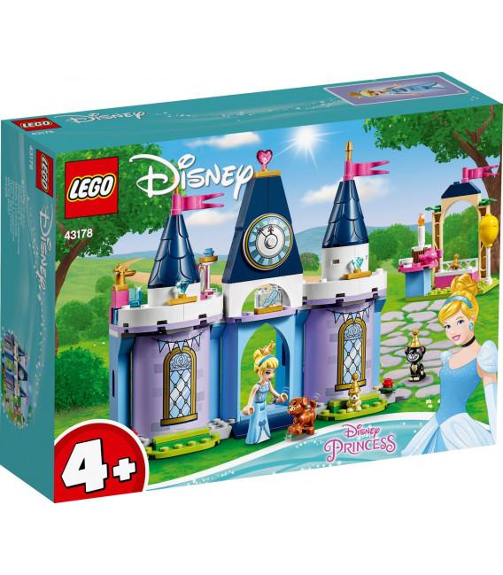 LEGO® Disney Princess 43178 Cinderella's Castle Celebration, Age 4+, Building Blocks, 2020 (168pcs)
