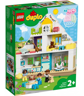 LEGO® DUPLO® Town 10929 Modular Playhouse, Age 2+, Building Blocks, 2020 (129pcs)