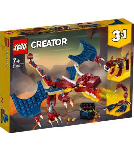 LEGO® Creator 31102 Fire Dragon, Age 7+, Building Blocks, 2020 (234pcs)