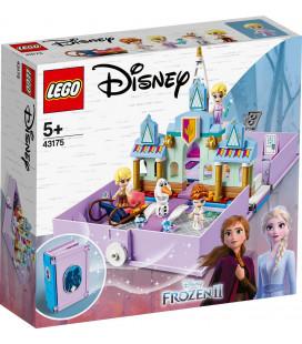 LEGO® Disney Princess 43175 Anna and Elsa's Storybook Adventures, Age 5+, Building Blocks, 2020 (133pcs)