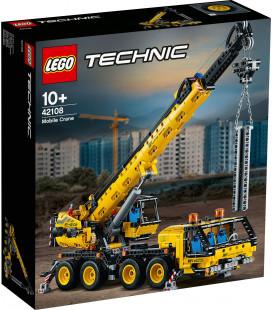 LEGO® Technic 42108 Mobile Crane, Age 10+, Building Blocks, 2020 (1292pcs)