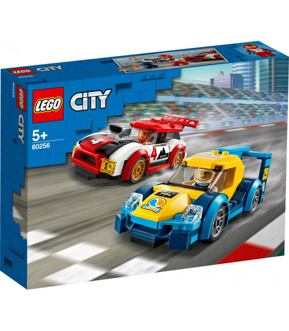 LEGO® City 60256 Racing Cars, Age 5+, Building Blocks, 2020 (190pcs)