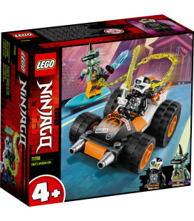 LEGO® Ninjago® 71706 Cole's Speeder Car, Age 4+, Building Blocks, 2020 (52pcs)