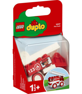 LEGO® DUPLO® My First 10917 Fire Truck, Age 1½+, Building Blocks, 2020 (6pcs)