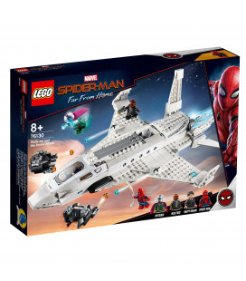 LEGO® Super Heroes 76130 Stark Jet and the Drone Attack, Age 8+, Building Blocks (504pcs)