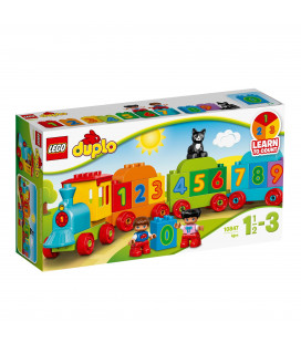 LEGO® DUPLO® 10847 Number Train, Age 1½-3, Building Blocks (23pcs)