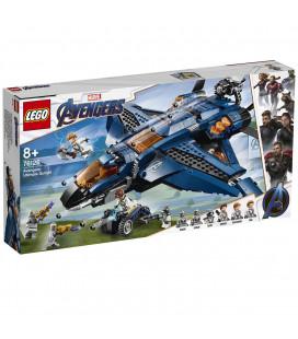 LEGO® Super Heroes 76126 Avengers Ultimate Quinjet, Age 8+, Building Blocks (840pcs)