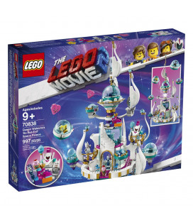 LEGO® Movie 2 70838 Queen Watevra's 'So-Not-Evil' Space Pala, Age 9+, Building Blocks (997pcs)